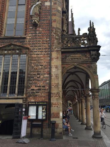 Chegada na Marktplatz