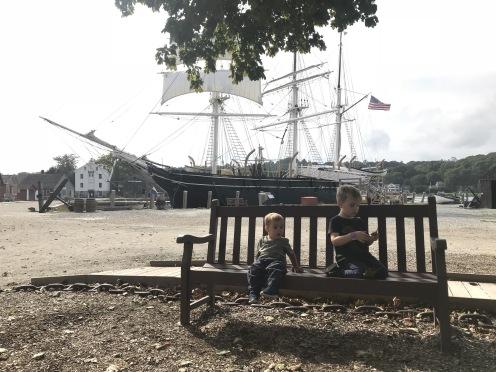 Seaport Museum em Mystic