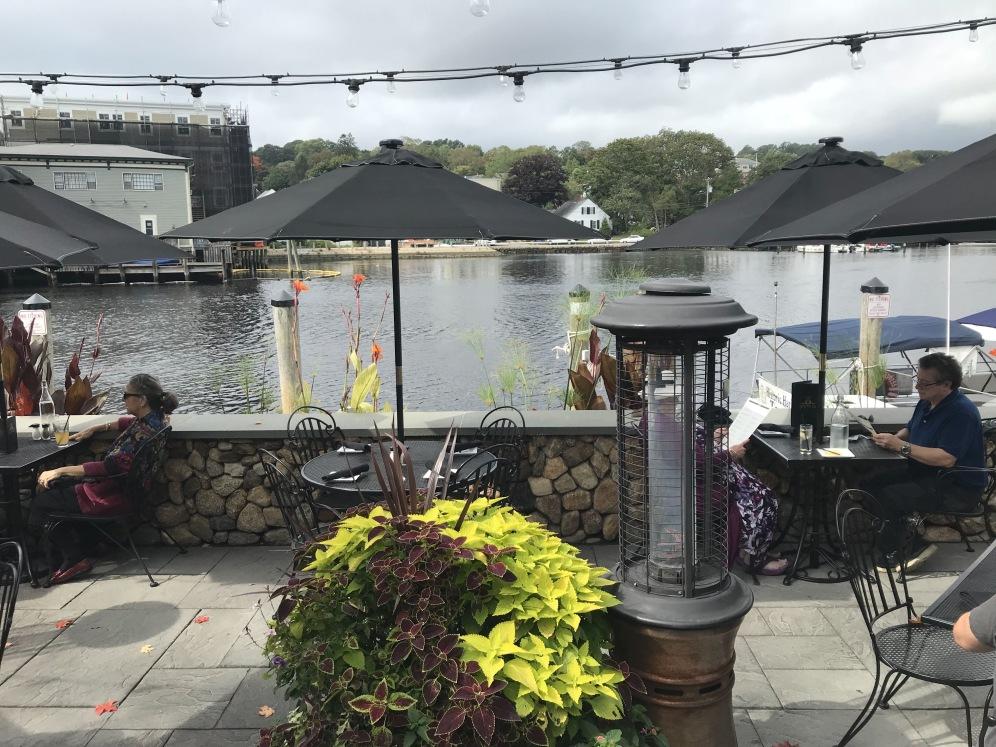 Cidade de Mystic em Connecticut