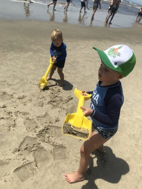 Ultimo verão curtindo a praia