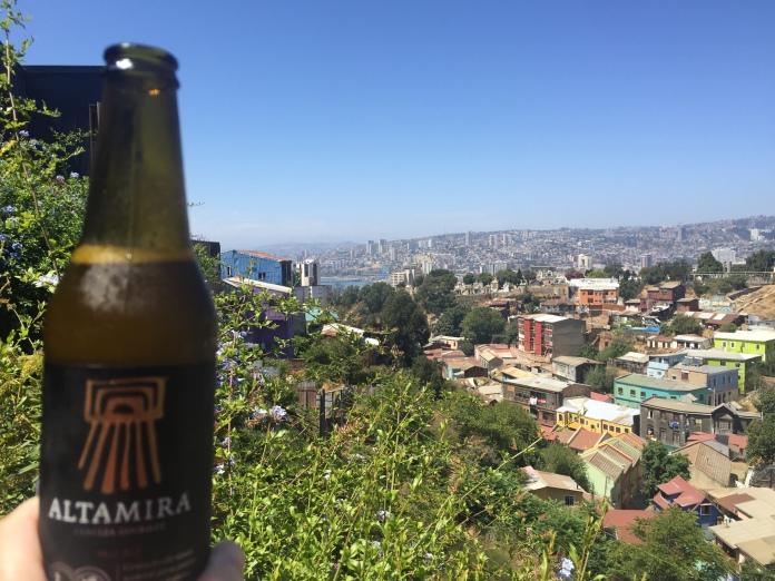Vista do quarto do Hotel Cirillo Armstrong em Valparaíso